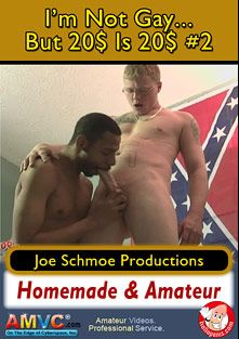 I'm Not Gay, But 20 Dollars Is 20 Dollars 2, starring Demetry (Joe Schmoe), Eric, Ricky (Joe Schmoe) and Joe Schmoe, produced by Joe Schmoe Productions.