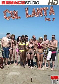 "Adult entertainment movie ""Cul Lanta 2"" starring Naomi Lionness, Louise Du Lac & Nicky Wayne. Produced by Kemaco."