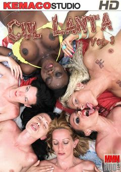 "Adult entertainment movie ""Cul Lanta 3"" starring Tiina K, Tania Kiss & Naomi Lionness. Produced by Kemaco."
