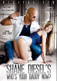 Shane Diesel's Who's Your Daddy Now, starring Chloe Chaos, Mia Austin, Jenna Ivory, Savannah Fox, Sophia Fiore, Shane Diesel and Natasha Starr, produced by Digital Sin.