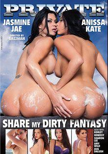 Share My Dirty Fantasy, starring Amy Wild, Jasmine Jae, Ava Dalush, Anissa Kate, Henessy, Sharon Lee (f), Irina Bruni, Ryan Ryder, Marco Banderas, Jazz Duro, Tony De Sergio and Ian Scott, produced by Private Media.