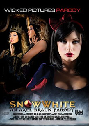 Snow White XXX: A Porn Parody, starring Ash Hollywood, Jessica Drake, Riley Steele, Michael Vegas, Ryan Driller, Katie St. Ives, Asa Akira, Alec Knight, Barrett Blade, Kylie Ireland and Eric Masterson, produced by Wicked Pictures.