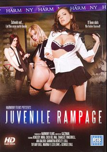 Juvenile Rampage, starring Charlyse Angel, Georgie Lyall, Marina Visconti, Ava Dalush, Coco De Mal, Mira Sunset, Samantha Bentley, Tiffany Doll, Henessy, Ryan Ryder, Lexi Love, Marco Banderas, Lola, Tony De Sergio and Ian Scott, produced by Harmony Films Ltd..