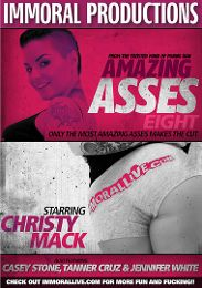 """Featured Category - Big Butts presents the adult entertainment movie """"Amazing Asses 8""""."""
