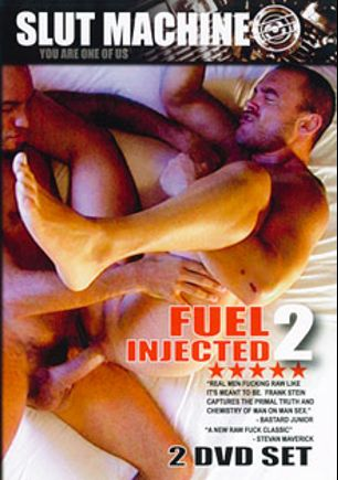Slut Machine: Fuel Injected 2, starring Robby Rob, Orion Cross, Mark Strauss, Muscle Butt, Blake Cocharan, Boy Fillmore, Moses, Xander Knox, Andre Barclay, The Cop, Jake Wetmore, Zack O'Mally, Mason Garet, Lito Cruz, Antonio Biaggi, Justin Jameson, Jessie Balboa, Jerry Stearns, Matt Hyland, Alex Cross and Jake Ryan, produced by Frank Stein and Slut Machine.