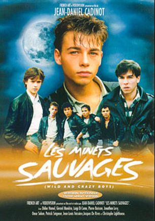 Les Minets Sauvages, starring Didier Hamel, Luigi Di Como, Jean Louis, Jean-Miche Senecal, Gerard Nemour, Christol Lighthouse, Omar Salam, Jonathan Levy, Pierre Buisson, Patrick Seigneur, Gerard Mandrin and Jacques DeRives, produced by Cadinot-Fr and CiteBeur.