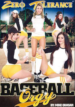 Baseball Orgy, starring Marina Angel, Jodi Taylor, Jay Taylor (f), Kendall Karson, Jessica Ryan, Bill Bailey, Will Powers, Marco Banderas and Mark Wood, produced by Zero Tolerance.
