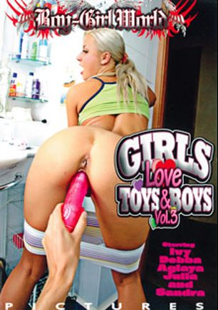 Girls Love Toys And Boys 3, starring Ivee, Amy Frost, Aglaya York, Lilian Tower, Markus Tynai, Liza Shay, Timo Hardy and Oliver Strelly, produced by Boy-Girl World.
