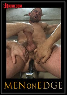 Men On Edge: Special Four Hand Massage, starring Adam Herst, Sebastian Keys and Van Darkholme, produced by KinkMen.