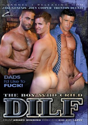 The Boy Who Cried DILF, starring Joey Cooper, Jake Genesis, Trenton Ducati, Damian Taylor, Angel Rock, Brad Kalvo, Will Swagger, Dirk Caber, Alessandro Del Toro and Andy Blue, produced by Catalina and Channel 1 Releasing.