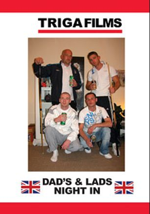 Dads And Lads Night In, starring Danny (m), Adam, Jay, Jamie, Mel (m), Kai, Tyson, Neil and Steve, produced by Triga Films.