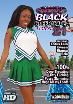 New Black Cheerleader Search 21, starring Lotus Lain, Kween, Brie Simone, Bianca A. and Eric Jover, produced by Woodburn Productions.
