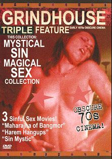 Mystical Sin Magical Sex Triple Feature: Sin Mystic, starring Joan Williams, Kathy Rogers, Ken Kastnor, SA Kidd and Jacob Peters, produced by After Hours Cinema.
