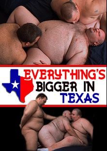 Everything's Bigger In Texas, starring Sunshine Bear, Wolf and Ryan *, produced by ChubSite.