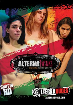 AlternaTwinks, starring Alexi Vladof, Hans Wunderkind, Tristan Mathews, Yuki Botwin, Dante Cross, Angel Garcia, Tyler Tremallose, Brayden James and Christoph, produced by Alternadudes.