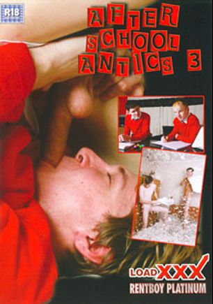 After School Antics 3, starring Aaron Aurora, Liam Diamond, Owen Jackson, Kaiden Spencer, Ethan White, Kamyk Walker and Brad Taylor, produced by Rentboy UK and Load Enterprises.