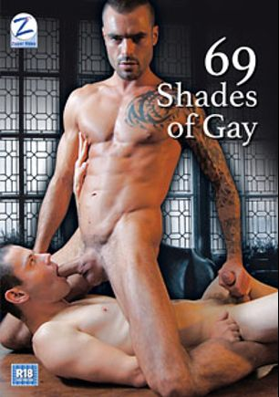 69 Shades Of Gay, starring Darius Ferdynand, Isaac Jones, Lucas Davidson, Lloyd Adams and Jake Lyons, produced by Zipper Video.