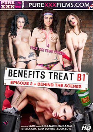 Benefits Treat B1 Episode 2, starring Stella Cox, Lola Marie, Carla Mai, Max Deeds, Luke Hardy, Lucia Love, Luke Hot Rod, Zara Du Rose, Ryan Ryder and Big Johnny, produced by Purexxxfilms.