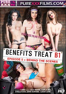 Benefits Treat B1 Episode 5, starring Stella Cox, Zara Du Rose, Lola Marie, Carla Mai, Laws, Jennifer Coley, Jason Kirkham, Hannah Gordon, David Barber, Grim Weeder, Casey Fragile, Charlie Spitz, Billy Wood, Max Deeds, Luke Hardy, Lucia Love, Luke Hot Rod, Black D., Ryan Ryder, Big Johnny and Holly White, produced by Purexxxfilms.