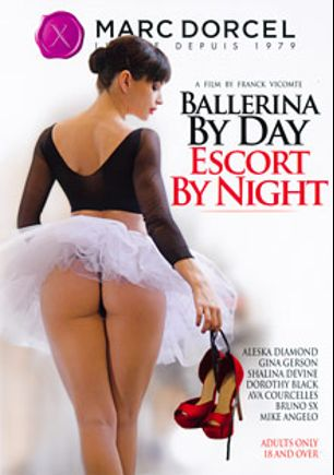 Ballerina By Day, Escort By Night, starring Aleska Diamond, Ava Courcelles, Doris Ivy, Shalina Devine, Mike Angelo, Dorothy Black and Bruno Sx, produced by Marc Dorcel SBO and Marc Dorcel.