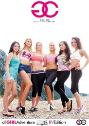 """Featured Category - Orgies presents the adult entertainment movie """"All Girl Adventure: RV Edition""""."""