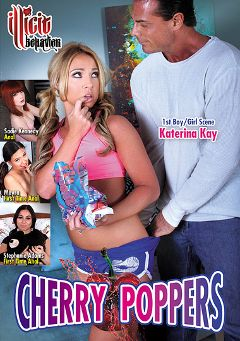 "Adult entertainment movie ""Cherry Poppers"" starring Sadie Kennedy, Katerina Kay & Stephanie Adams. Produced by Illicit Behavior."