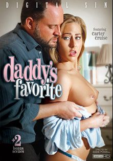 Daddy's Favorite, starring Carter Cruise, Brooke Wylde, Alina Li, Natalia Starr, Alec Knight, Mark Wood, John Strong and Evan Stone, produced by Digital Sin.