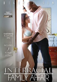 "Adult entertainment movie ""Interracial Family Affair"" starring Roxanne Rae, Marley Blaze & Isiah Maxwell. Produced by Digital Sin."