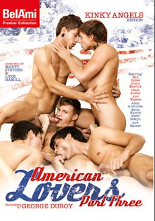 American Lovers 3, starring Austin Merrick, Chase Austin, Max Ryder, Andre Boleyn, Adam Archuleta, Kevin Warhol, Jack Harrer and Alex Waters, produced by Bel Ami.