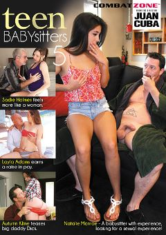 "Adult entertainment movie ""Teen Babysitters 5"" starring Autumn Kline, Natalie Monroe & Layla Adams. Produced by Combat Zone."