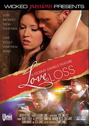 Love And Loss, starring Maddy O'Reilly, Chad White, A.J. Applegate, Penny Pax, Brendon Miller, Seth Gamble and Ramon Nomar, produced by Wicked Pictures.