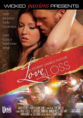 Straight Adult Movie Love And Loss - front box cover