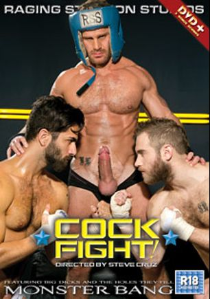 Cockfight, starring Adam Ramzi, Shawn Wolfe and Landon Conrad, produced by Falcon Studios Group, Raging Stallion Studios and Monster Bang.