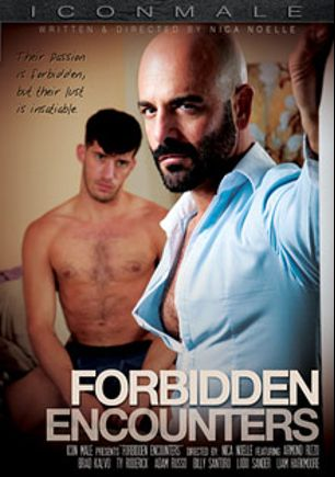 Forbidden Encounters, starring Brad Kalvo, Ty Roderick, Ludo Sander, Liam Harkmoore, Billy Santoro, Armond Rizzo and Adam Russo, produced by Iconmale and Mile High Media.