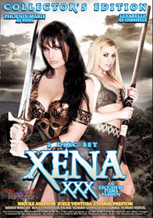 Xena XXX: An Exquisite Films Parody, starring Phoenix Marie, Lexi Belle, Nicole Aniston, Chanel Preston, Seth Gamble, Juelz Ventura, Rocco Reed, Tommy Pistol, Tommy Gunn, Randi Wright and Lee Stone, produced by Paradox Pictures.