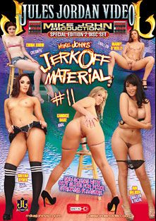 Jerk Off Material 11, starring Candice Dare, Emma Snow, Ava Dalush, Maddy O'Reilly, Sheena Ryder and Mike John, produced by Mike John Productions and Jules Jordan Video.