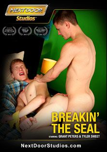 Breakin' The Seal, starring Grant Peters, Tyler Sweet (m), Sergio Long, Dan Riley, Joey Hard, Blake Savage, Jackson Taylor, Steven Shields, Matthew Keading, Ashton Rush, Trevor Laster and Anthony Romero, produced by Next Door Studios.