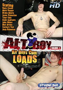 Alt Boy 2: Alt Boys Cum Loads, starring Mark Romeo, Rhys Casey, Zackery Star, Jason Valentine, Jake Wiles, Tyler Ellis, Max Brown, Cody Andrews, Drake Blaize and Josh Osborne, produced by Studio Boi.