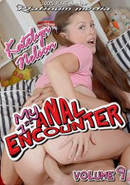 """Featured Category - Anilingus presents the adult entertainment movie """"My 1st Anal Encounter 9""""."""