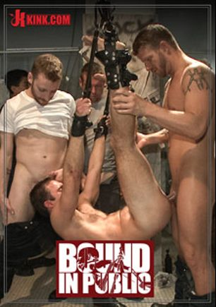 Bound In Public: Cameron Kincade's Dirty Fantasy, starring Cameron Kincade, Jeremy Stevens, Sebastian Keys and Jason Miller, produced by KinkMen.