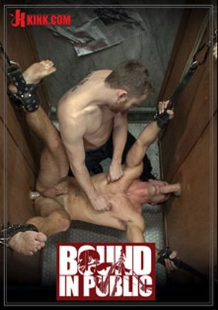 Bound In Public: Sexy Stud's Wet And Wild Fantasy, starring Jason Miller, Jeremy Stevens and Cameron Kincade, produced by KinkMen.