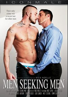 Men Seeking Men, starring Jessie Colter, Nick Capra, Matt Stevens, Davey Anthony, Ludo Sander, Trenton Ducati, Ty Roderick and Tommy Defendi, produced by Iconmale and Mile High Media.