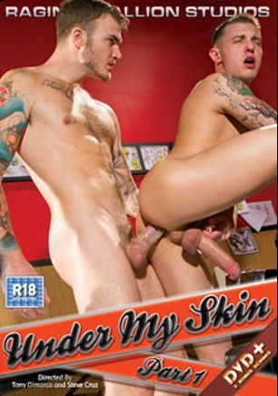Under My Skin, starring James Ryder, Christian Wilde, Seven Dixon, Boomer Banks, Trenton Ducati, Nick Cross and Damien Crosse, produced by Falcon Studios Group and Raging Stallion Studios.