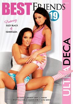 "Adult entertainment movie ""Best Friends 19"" starring Suzi Black, Esmeralda & Maddy (f). Produced by Sunset Media."