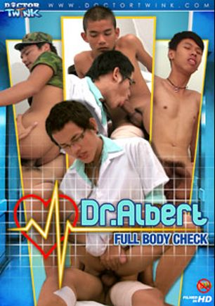 Dr. Albert Full Body Check, starring Jacop, Albert, William, Leo, Adam and Jimmy, produced by Gay Asian Twinkz, CJXXX and Doctor Twink.