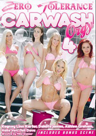 Carwash Orgy 4, starring Tali Dova, Halle Von, Dakota James (f), Ashley Graham, Kagney Linn Karter, Bill Bailey, Tommy Pistol, Will Powers and John Strong, produced by Zero Tolerance.