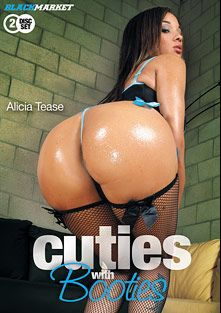 Cuties With Booties, starring Alicia Tease, Victory Phoenix, Candice and Pursuajon, produced by Black Market Entertainment.