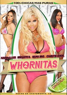 Whornitas 2, starring Selma Sins, Bridgette B., Nadia Styles, Charlyse Angel, Tommy Pistol, Barry Scott, Marco Banderas and Ann Marie Rios, produced by Devils Film and Devil's Film.