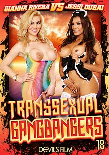 Transsexual Gang Bangers 18, starring Jessy Dubai, Gianna Rivera, Chad Diamond, Wolf Hudson and Christian XXX, produced by Devils Film and Devil's Film.