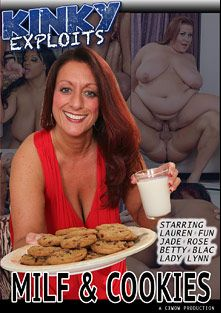 MILF And Cookies, starring Lauren Fun, Lady Lynn, Betty Blac and Jade Rose, produced by CX WOW Production.